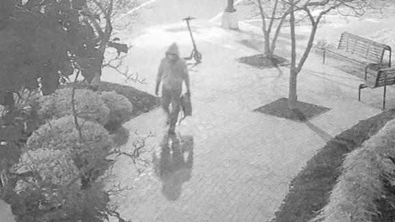 Image for See video FBI released of pipe bomb suspect