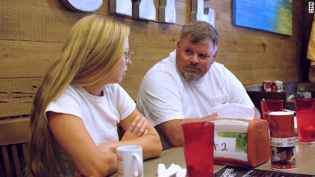 Brian Keathley of Carter County, Missouri, speaks with CNN's Elle Reeve.