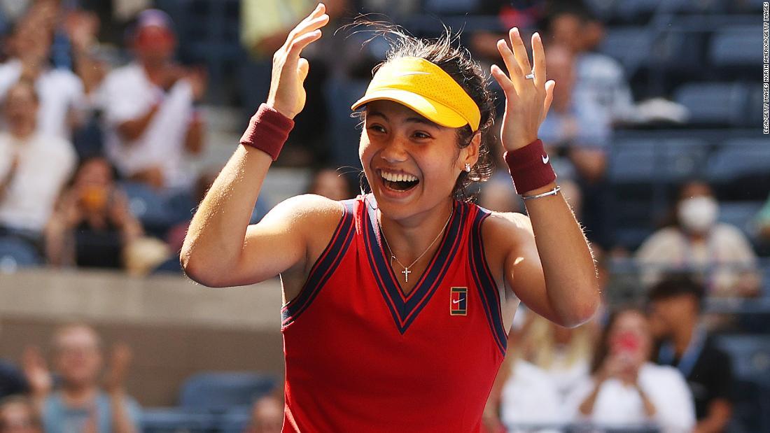 Emma Raducanu beats Belinda Bencic to reach US Open semifinals