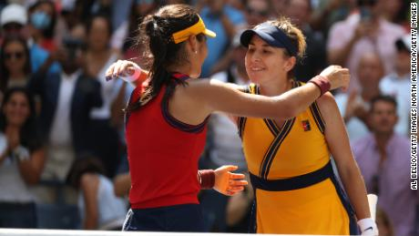 Emma Raducanu defeated the much more experienced Belinda Bencic to reach the semifinals.