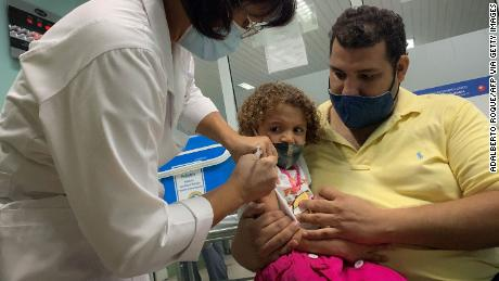 The Delta variant has caused skyrocketing cases among children in Cuba