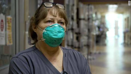 Wanda Combs said nurses on her team are working harder than ever.