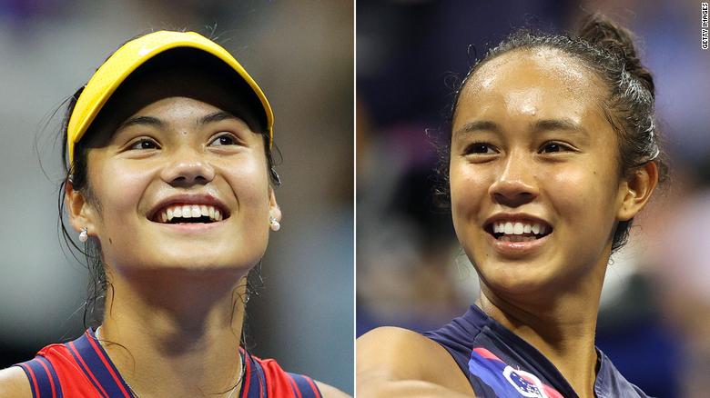 Emma Raducanu and Leylah Fernandez to meet in first all-teen US Open final since 1999