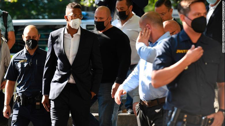 Former Germany defender Jerome Boateng guilty of bodily harm, fined $2.13 million