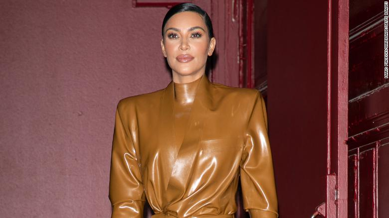 Kim Kardashian says she's 'not OK' after son Saint breaks his arm