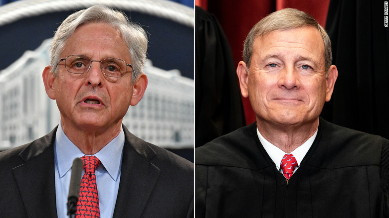 Why Merrick Garland is channeling John Roberts in DOJ's fight against the Texas abortion ban