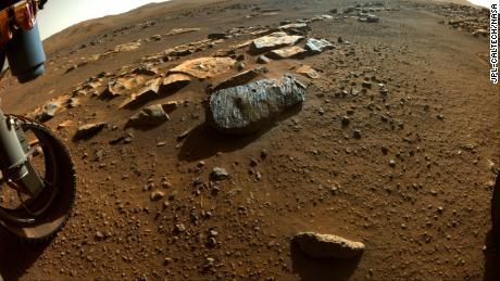 Amostras persistentes de rocha marciana podem conter bolhas de água antigas