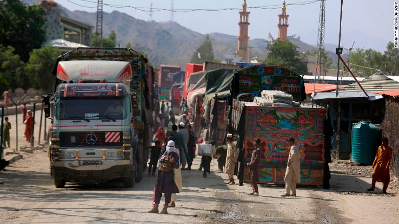 Inside a surreal journey from the Pakistani border to Taliban-controlled Kabul