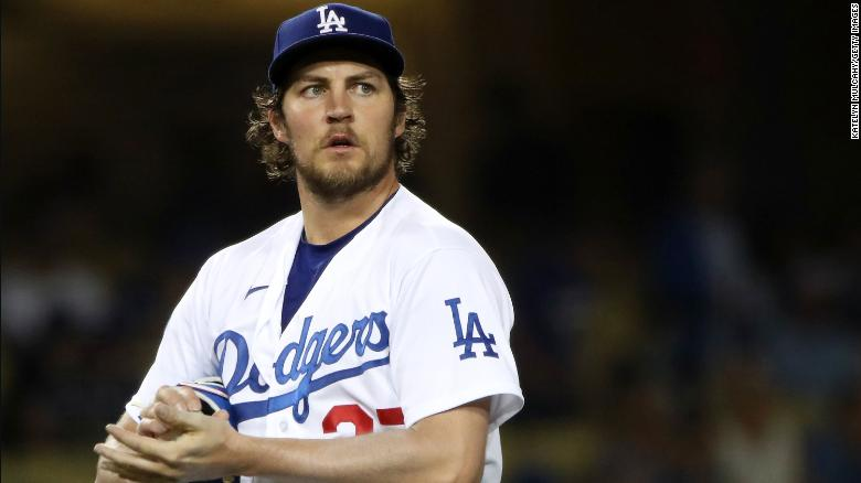 Dodgers pitcher Trevor Bauer's administrative leave extended through the rest of the season