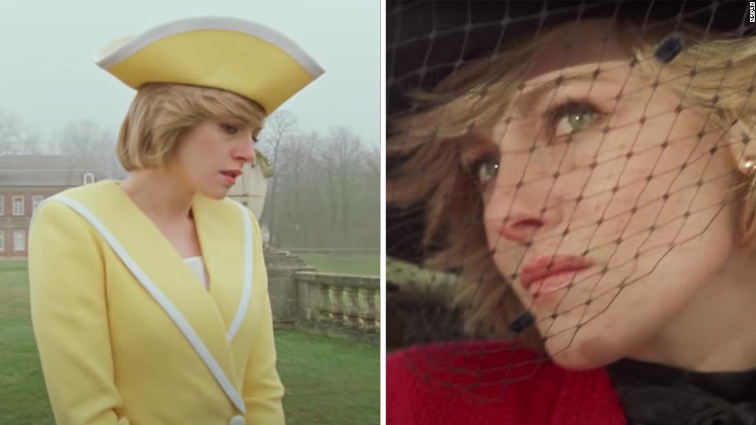 See Kristen Stewart's incredible transformation as Princess Di