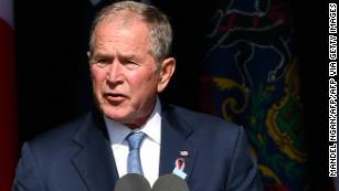 Watch George W. Bush's full 9/11 20th anniversary memorial speech