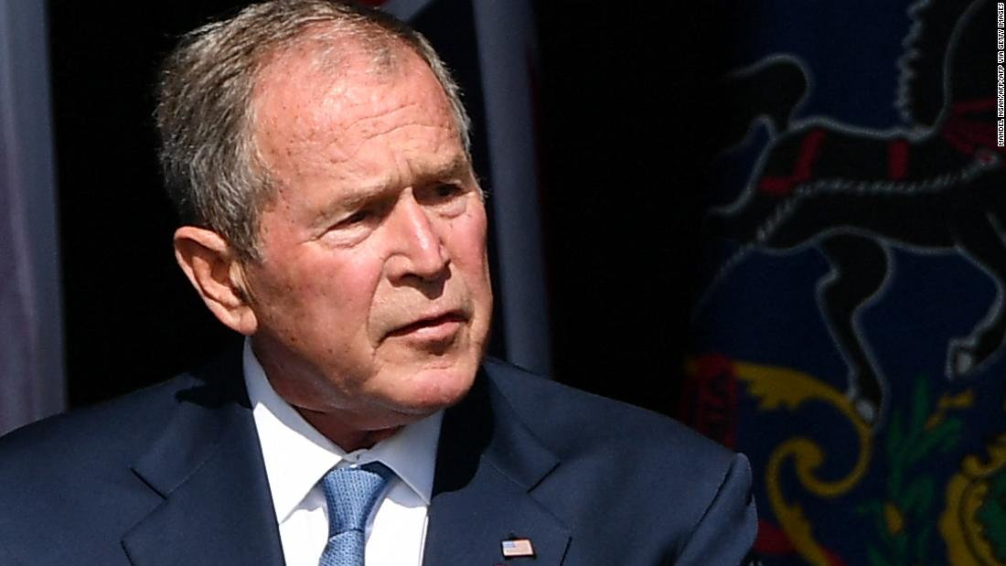 Analysis: George W. Bush just threw a whole lot of shade at Donald Trump