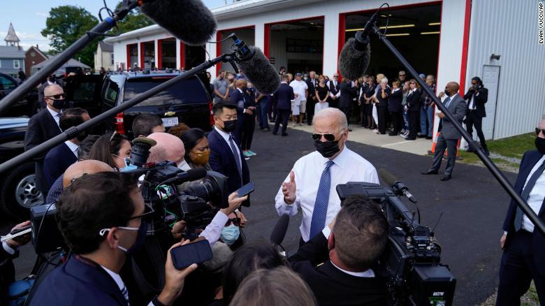Biden to make push to combat climate crisis while surveying wildfire damage on West Coast