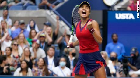 Britain's Emma Raducanu defeats Canada's Leylah Fernandez in all-teen US Open final