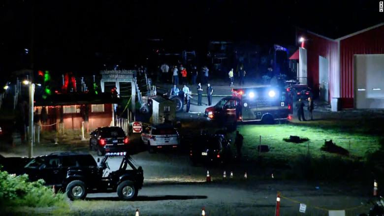 One teen killed and another wounded in shooting at Haunted Hills Hayride in Pennsylvania