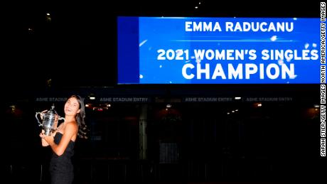 """Emma Raducanu: the queen praises an """"exceptional"""" victory at the US Open"""
