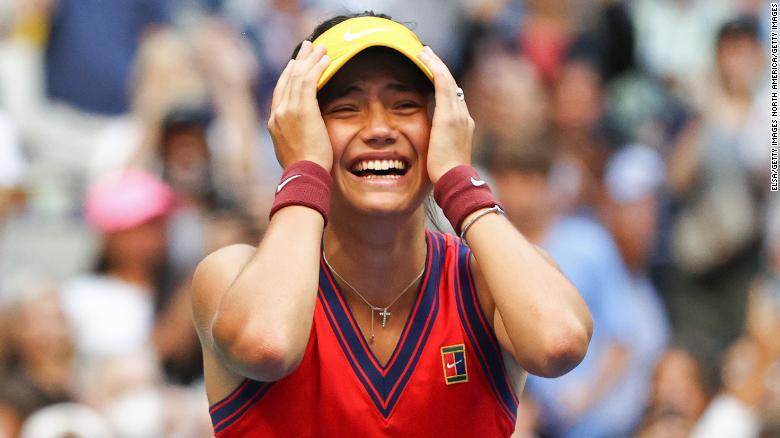The Queen praises Emma Raducanu's 'outstanding' US Open victory