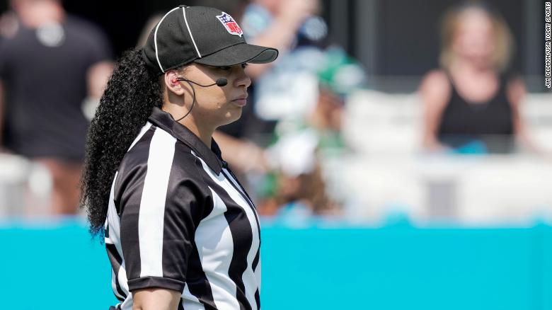 Maia Chaka makes history as first Black woman to officiate an NFL game