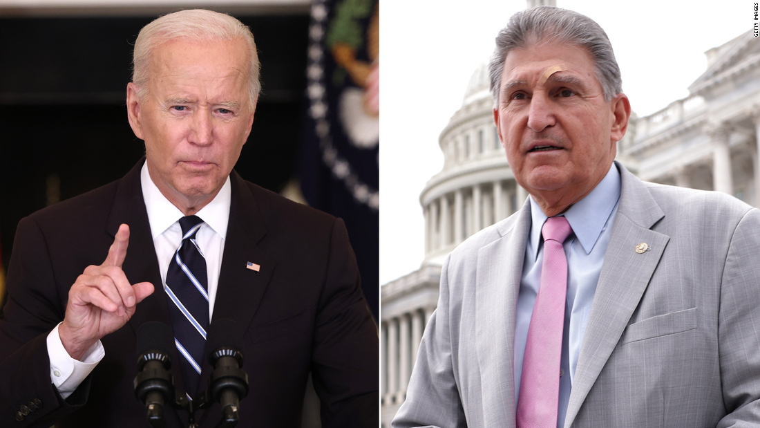 Biden to host Manchin in Delaware to discuss finalizing spending bill