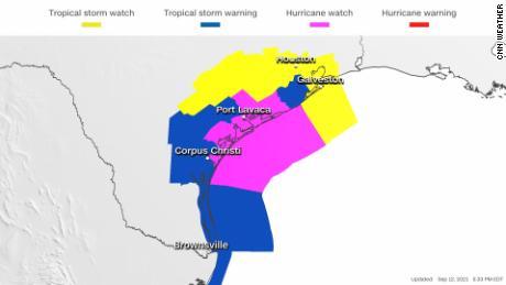 Tropical Nicholas Depression threatens Gulf Coast with flooding, including parts of Louisiana still faltering from Ida