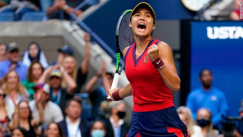 Emma Raducanu, US Open winner, finds new fans in China