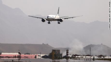The PIA plane that arrived in Kabul on Monday is the first flight to land in Afghanistan from Pakistan since the final withdrawal of US troops in August.
