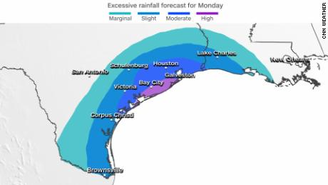 Tropical Storm Nicholas: Risk of flash flooding increases for coasts of Texas and Louisiana as Tropical Storm Nicholas targets