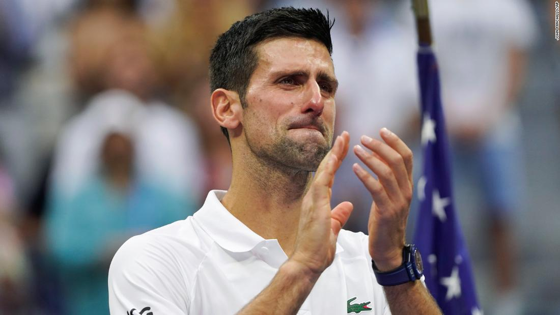Novak Djokovic's tears, booing during sets and history denied: A US Open final for the ages