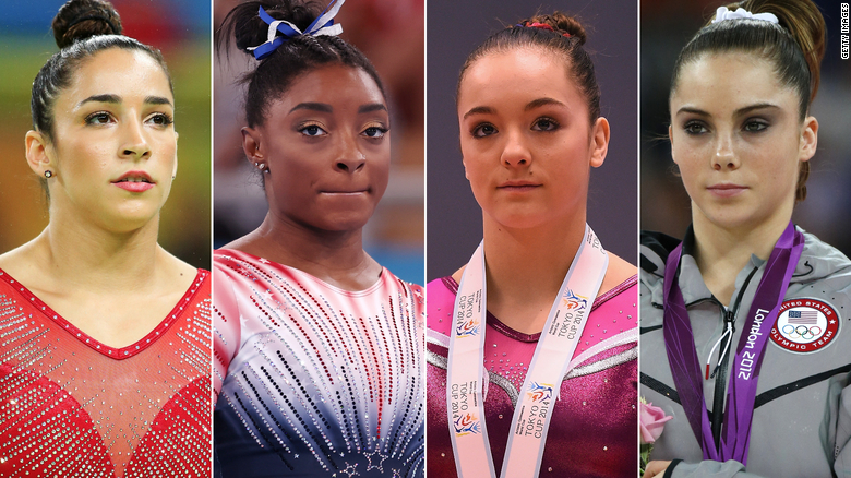 Simone Biles, McKayla Maroney, Maggie Nichols and Aly Raisman to Testify Before Congress About FBI's Handling of Larry Nassar Sex Abuse Investigation