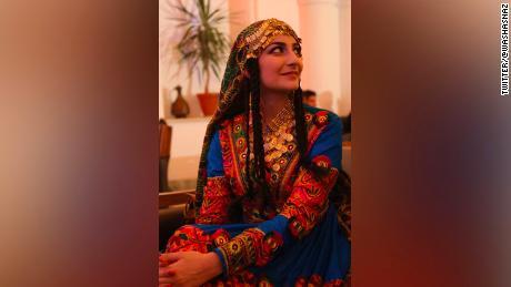 """This is how Afghan women dress,"" replied Waslat Hasrat-Nazimi."