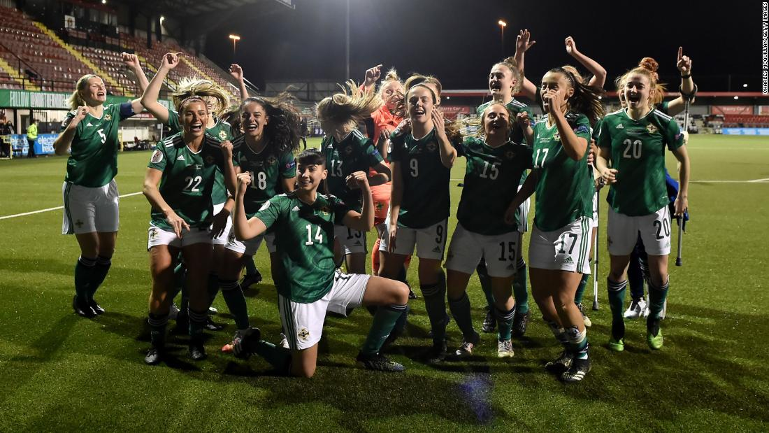 Northern Ireland women's footballers ready to seize their moment