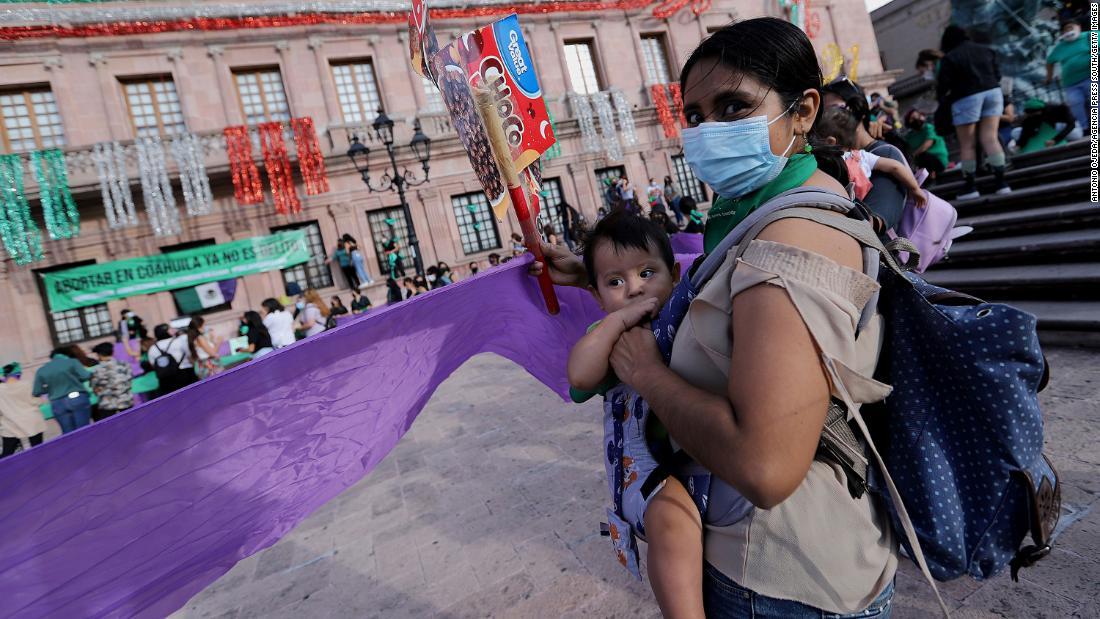 La décision sur l'avortement au Mexique pourrait faire fureur