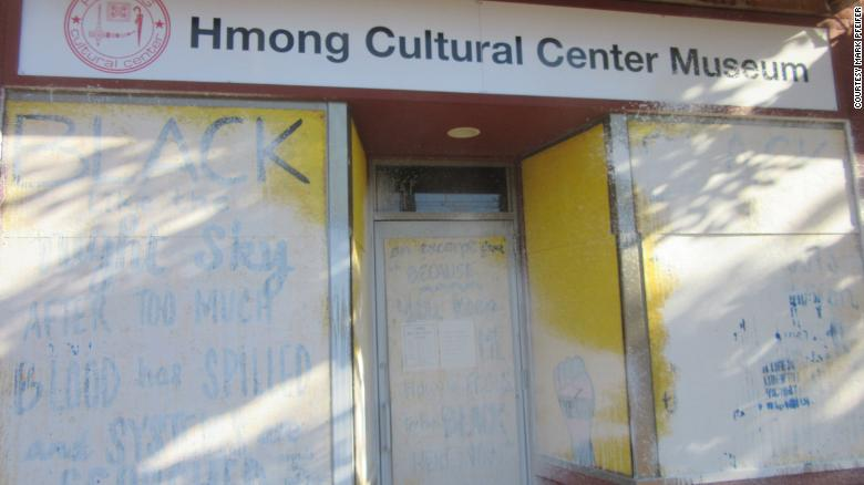 Vandalism delays the opening of the Hmong Cultural Center Museum in Minnesota