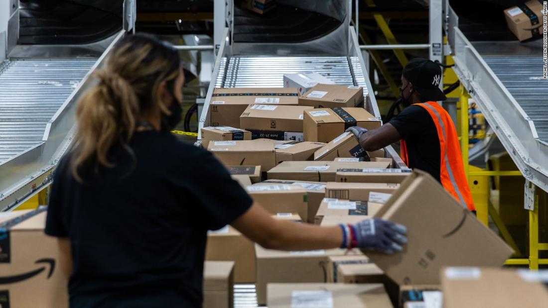 Amazon va embaucher 125 000 travailleurs