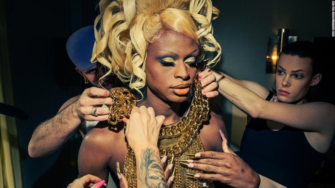 Getting Met Gala-ready with 'Drag Race' star Symone - CNN