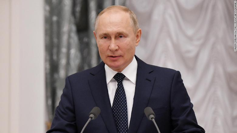 Russia's Vladimir Putin is self-isolating after several Covid-19 cases in his entourage