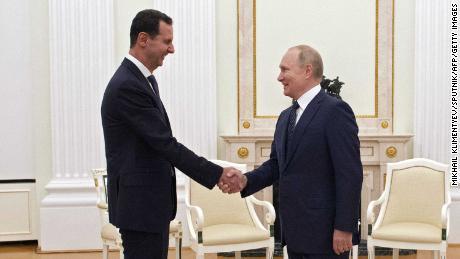 Putin também se encontrou com o presidente sírio, Bashar al-Assad, em Moscou na segunda-feira.