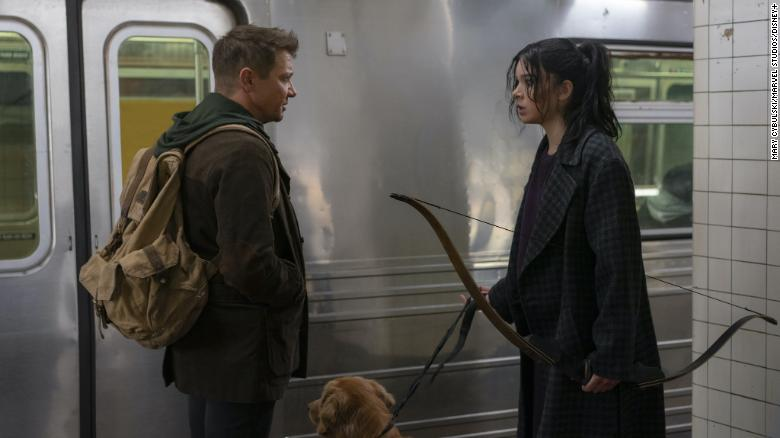 'Hawkeye' trailer features Jermey Renner and Haliee Steinfeld