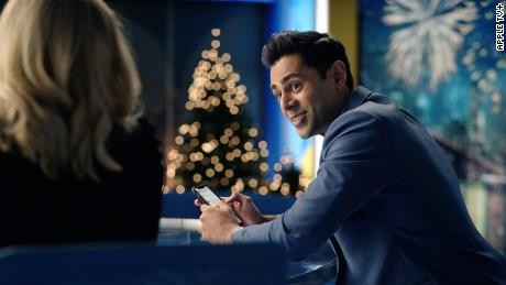 """Hasan Minhaj is shown as Eric Nomani in a scene from season two of """"The Morning Show."""""""