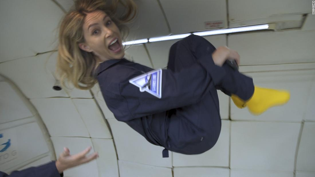 Here's how you can experience zero gravity without going to space – CNN