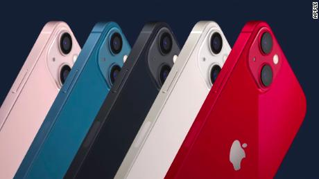 The many colors of the iPhone 13