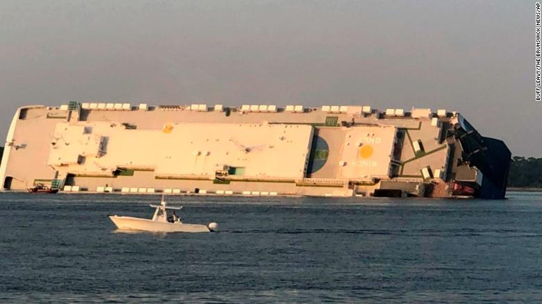 The Golden Ray cargo ship capsized because of inaccurate stability calculations, the NTSB finds