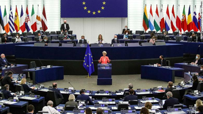 EU chief announces extra $4.7bn in climate funds for Global South and challenges US to 'step up'