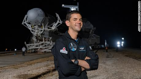 Jared Isaacman during deployment to Launch Complex 39A on September 11, 2021.