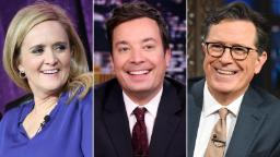 Late-night hosts team for 'Climate Night'