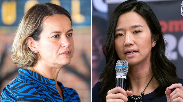 Boston mayoral race narrows to Michelle Wu and Annissa Essaibi George, two women of color, for the city's top job