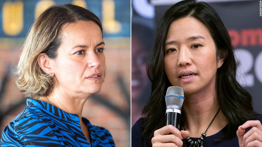 Boston mayoral race narrows to Michelle Wu and Annissa Essaibi George two women of color for the city's top job – CNN