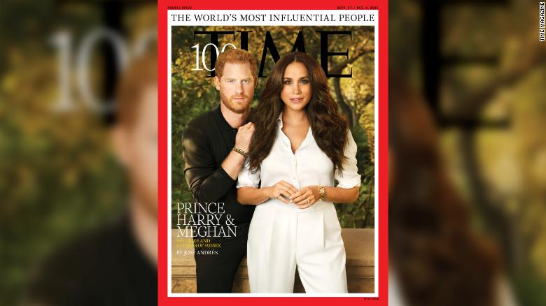 Meghan and Harry are named 'icons' in Time's list of 100 most influential people