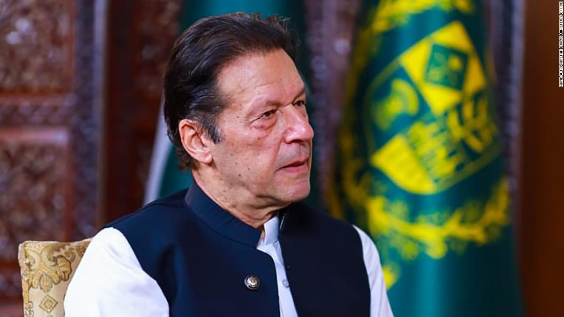 Pakistan's Imran Khan says world should give Taliban 'time' on human rights but fears 'chaos' without aid