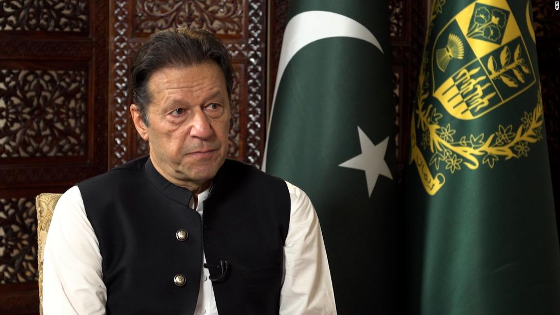 Watch part one of Imran Khan's interview with CNN's Becky Anderson